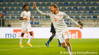 Bundesliga Arminia Bielefeld vs. FC Bayern München | 4. TOR Bayern (Wolfgang Rattay/Reuters)