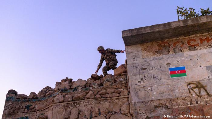 Konflikt in Berg-Karabach (Bulent Kilic/AFP/Getty Images)