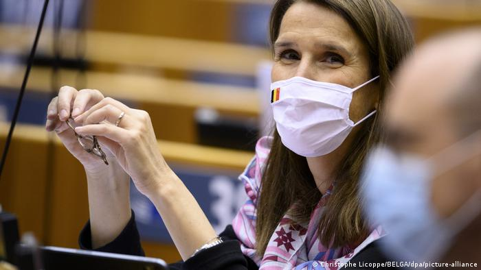 Belgian Foreign Minister Sophie Wilmes