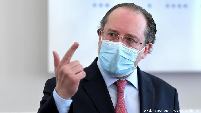 الکساندر شالنبرگ، وزیر خارجه اتریش