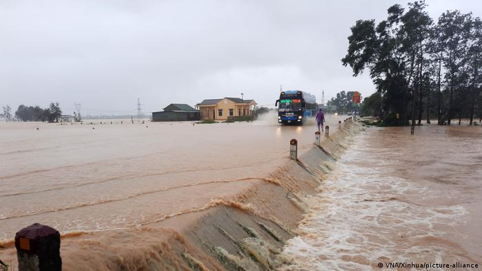 The rains have flooded nearly 200,000 houses in the region.
