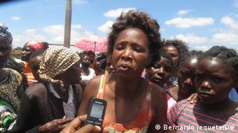 Mosambik Rentner*innen Protest