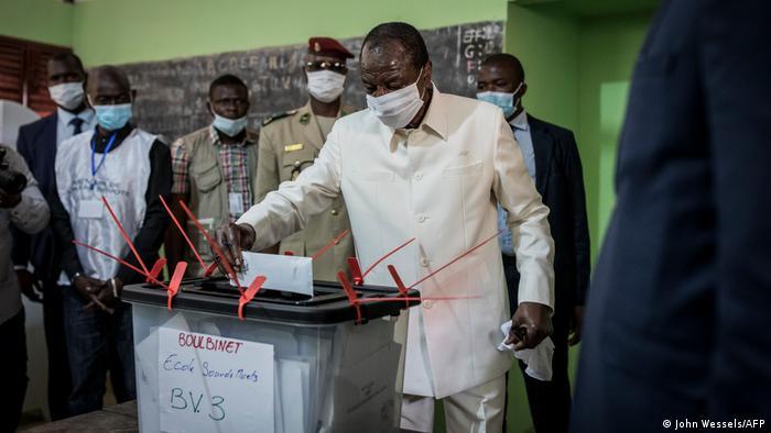Guinean President Alpha Conde (John Wessels/AFP)