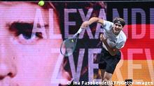 ATP-Turnier Köln |Finale Zverev vs. Auger-Aliassime |Alexander Zverev (Ina Fassbender/AFP/Getty Images)