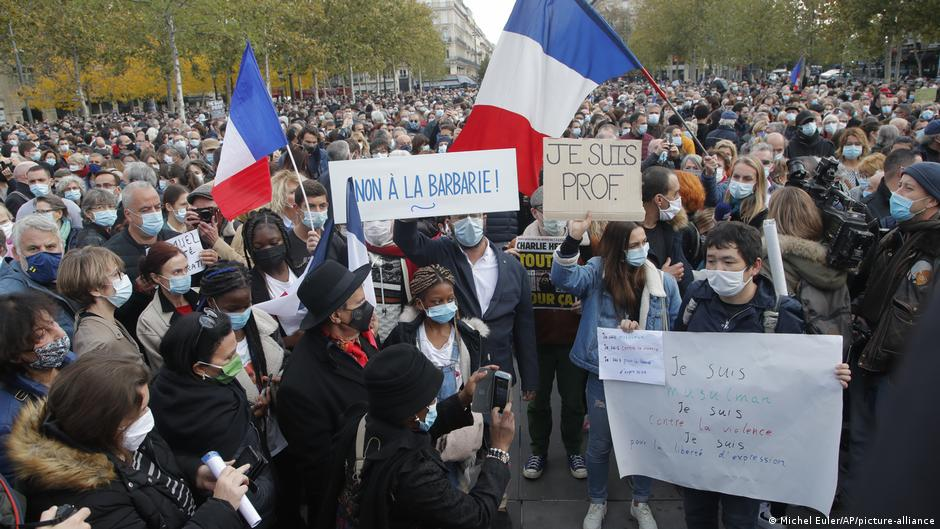 France: Police operations underway after teacher's beheading