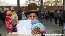 Bolivien Wahl 2020 |Stimmabgabe in La Paz