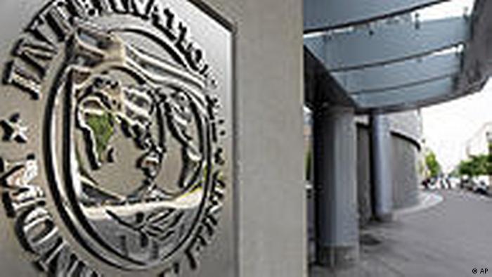 USA Washington Internationaler Währungsfond Logo Finanzkrise Griechenland
