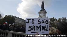 حادثة اغتيال المدرس صامويل باتي أحدثث صدمة إضافية في الشارع الفرنسي.