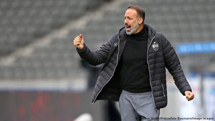 Deutschland Bundesliga Pellegrino Matarazzo nach dem Sieg gegen die Hertha