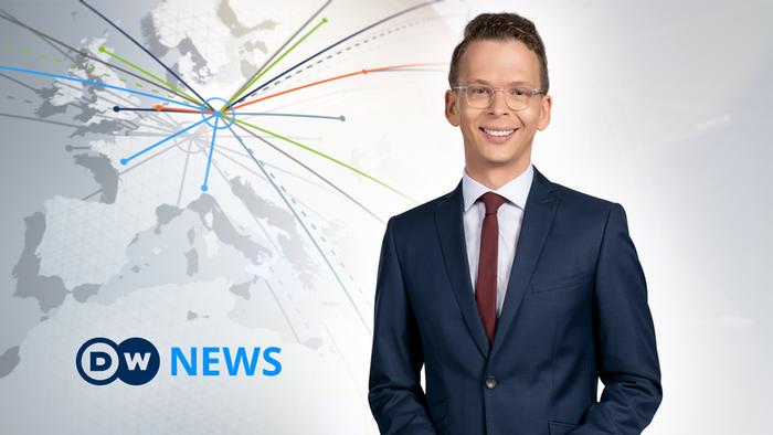 DW News Moderator Jared Reed (Artikelbild Detailseite)