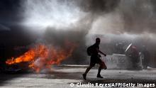 Chile Santiago Proteste
