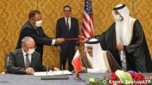 Bahrain Manama Zeremonie Abkommen Israel Bahrain