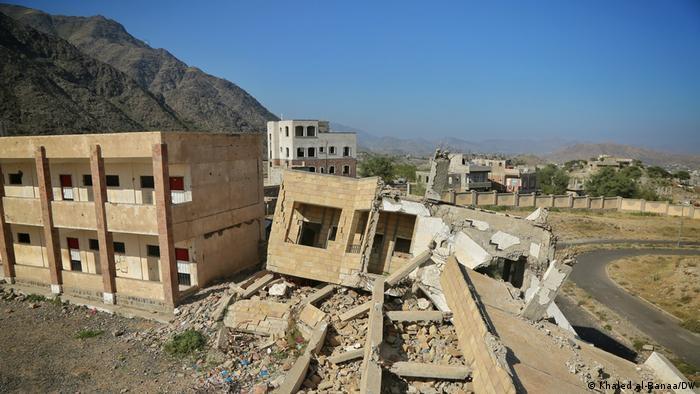 Jemen Habeel Salman Schule (Khaled al-Banaa/DW)