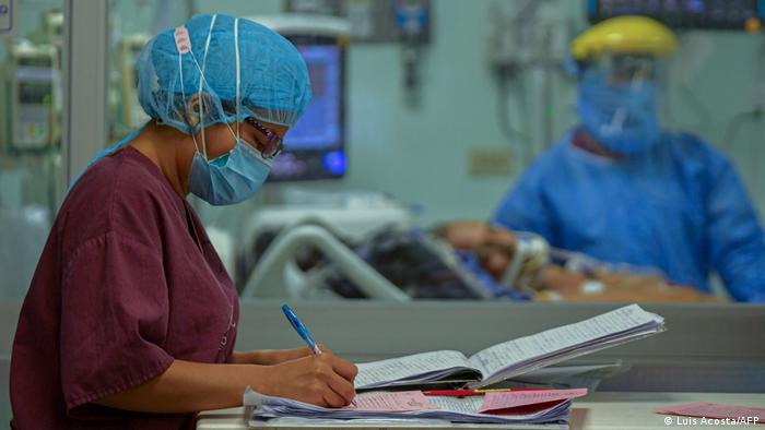 Panama Gesundheitssystem Coronakrise Medizinisches Personal