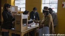 Bolivien La Paz | Wahlen Wahllokal