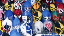 Symbolbild Mexiko Lucha Libre Wrestling Maske