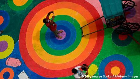 BdTD Indien Hindufestival Durga Puja (Dibyangshu SarkarAFP/Getty Images)