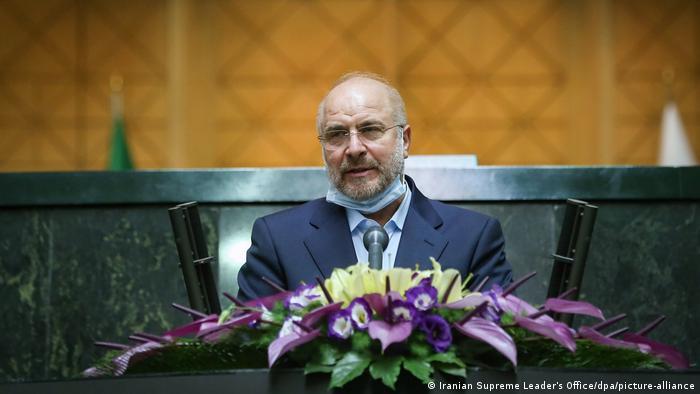 Der iranische Parlamentspräsident Mohammad Bagher Ghalibaf