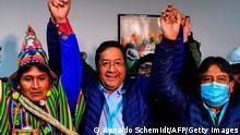 Bolivien Wahlen Präsidentschaftskandidat Luis Arce