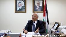 Palästina Saeb Erakat (Issam Rimawi/AA/picture-alliance)