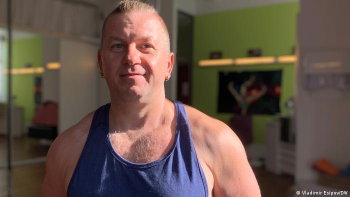 Роман Конанчук із Білої Церкви - триразовий чемпіон Німеччини з танців на жердині