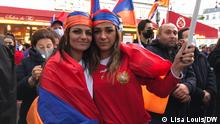 Frankreich | Konflikte | Demonstration von Armeniern in Paris (Lisa Louis/DW)