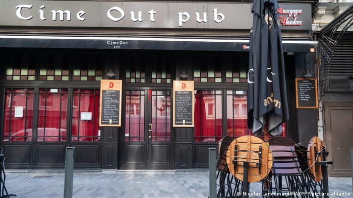 Belgien Geschlossene Bars in Brüssel