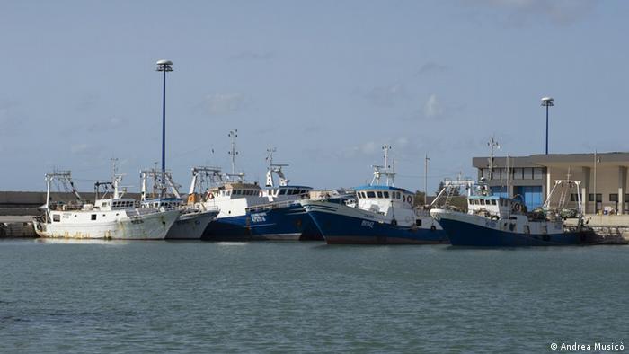 Port in Mazara del Vallo