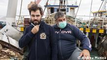 Reportagebilder zu Italian fishermen detained in Libya