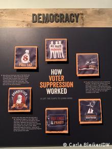 USA Atlanta History Center | Ausstellung zu Wählerunterdrückung