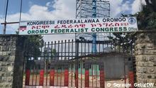Äthiopien Addis Abeba | Büro des Oromo Federalist Congress