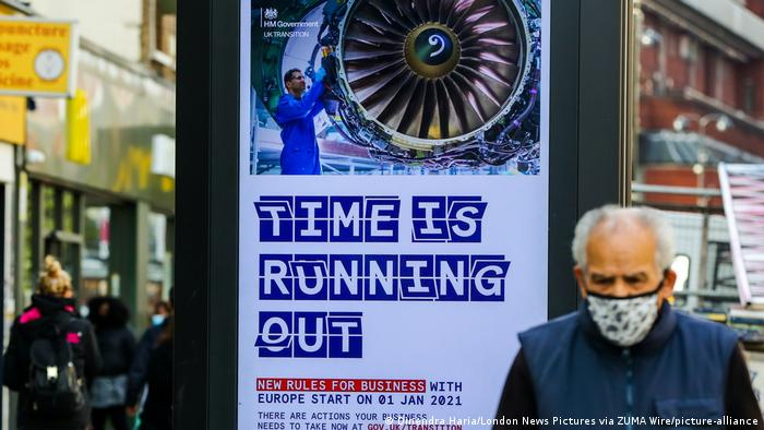 England Kampagne - Time is running out