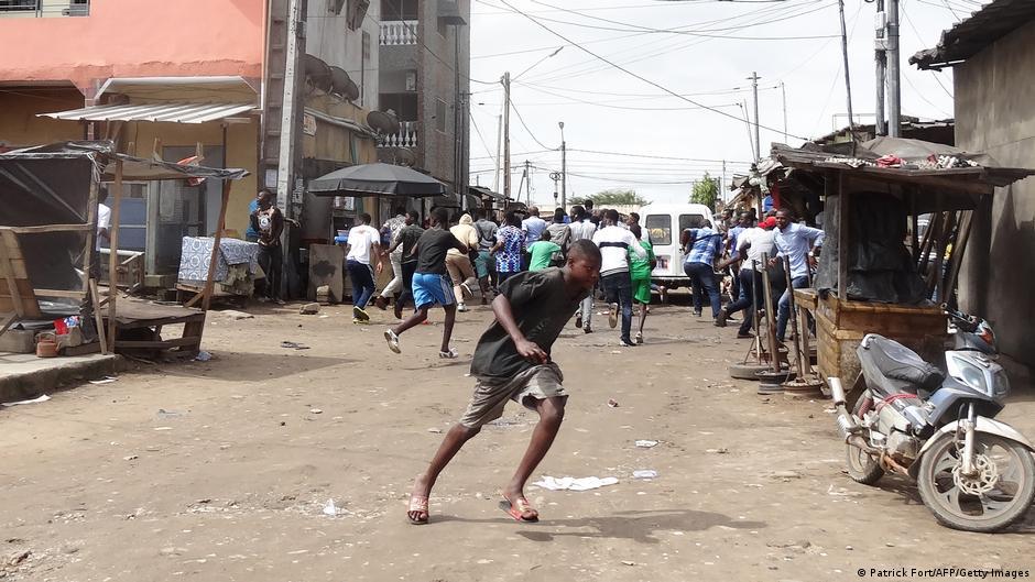 Manifestation contre un troisième mandat en Côte d'Ivoire