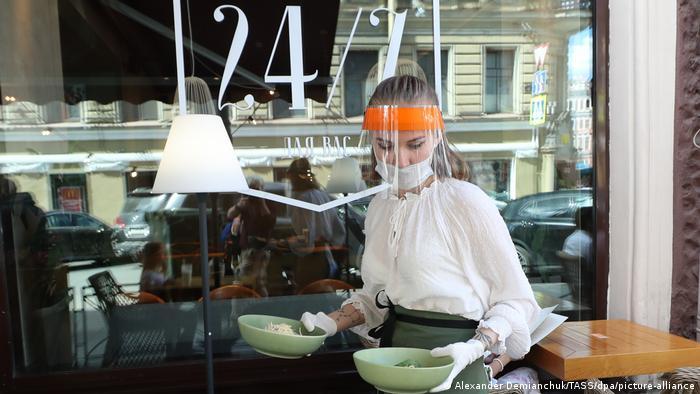 В одном из ресторанов Санкт-Петербурга
