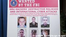 USA Washington | Russische Offiziere | Cyberattacke