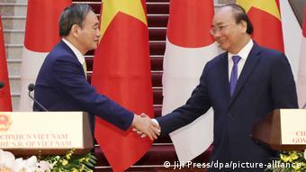 Vietnam | japanischer Premierminister Yoshihide Suga zu Besuch in Hanoi