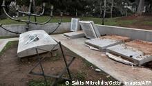 Griechenland Thessaloniki | Schändung des jüdischen Friedhofs