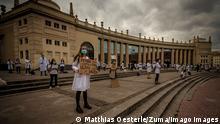 BdTD Spanien Coronavirus Ärzte protestieren in Barcelona