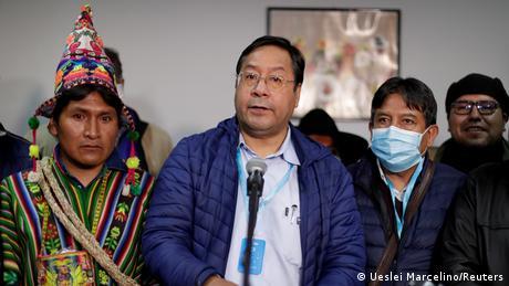 Luis Arce (Ueslei Marcelino/Reuters)