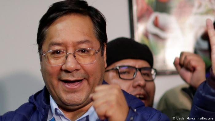 Bolivien Präsidentschaftswahlen Luis Arce