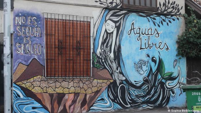 Es ist keine Dürre, sondern Plünderung Chile Santiago