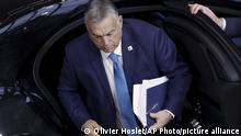 Der ungarische Ministerpräsident Viktor Orban (Foto: Olivier Hoslet/AP Photo/picture alliance)