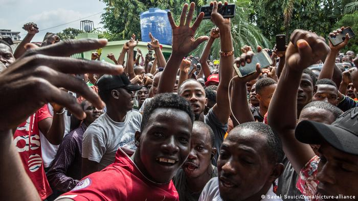 Guinea Conakry   Präsidentschaftswahl 2020: Unterstützer von Cellou Dalein Diallo