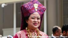 Indonesien Jakarta | Puan Maharani während Zeremonie zum 74 Unabhängigkeitstag