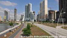16.05.2016, Panama, Panama City: Eine Ansicht der Stadt Panama City. (zu dpa «Sechs Monate Anti-Geldwäsche-Register: Gemischte Bilanz» vom 25.06.2018) Foto: Alejandro Bolivar/EFE/dpa +++ dpa-Bildfunk +++ |