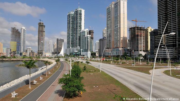 Panama Strassenansicht in Panama-City
