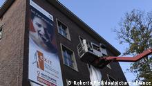 Düsseldorf | Aktion gegen Menschenhandel und Zwangsprostitution