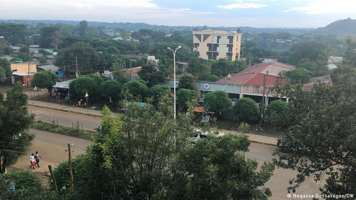 Äthiopien Benishangul Region, Stadt Metekel
