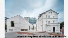 Deutschland Aussenansicht des Jüdischen Museums in Frankfurt
