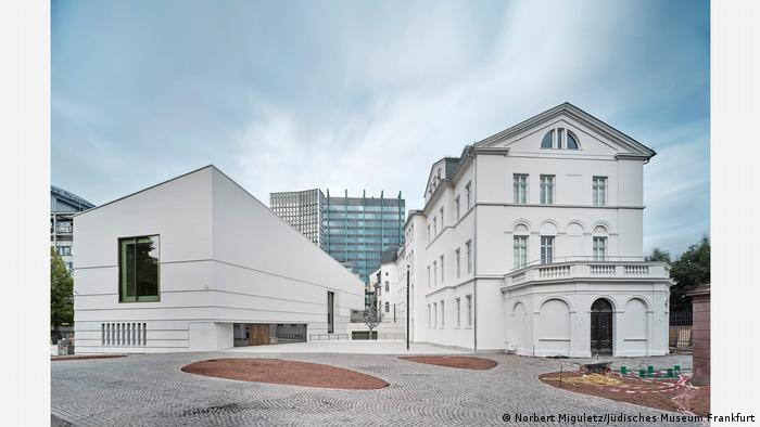 Außenansicht des Jüdischen Museums in Frankfurt